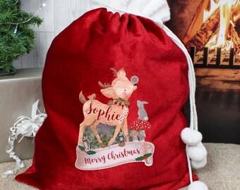 Personalised, Santa Sack