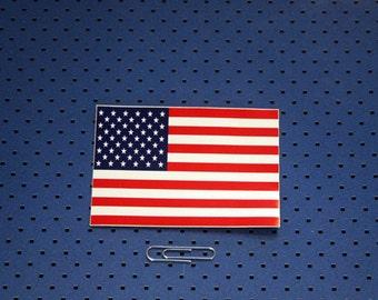 9580fc655d2 American Flag Bumper Sticker