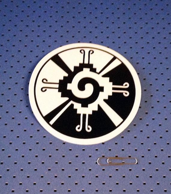 Mayan Hunab Ku Symbol Bumper Sticker Etsy