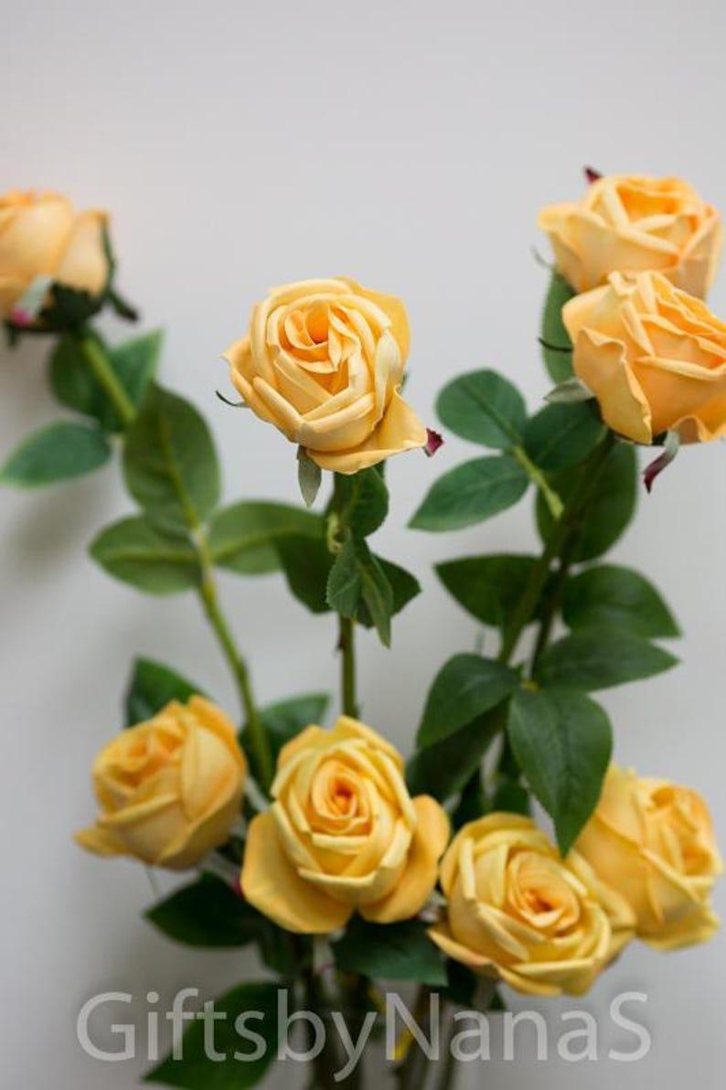 fake flowers cheap silk flowers Peach real touch flowers silk flowers real touch roses peach silk roses silk wedding flowers