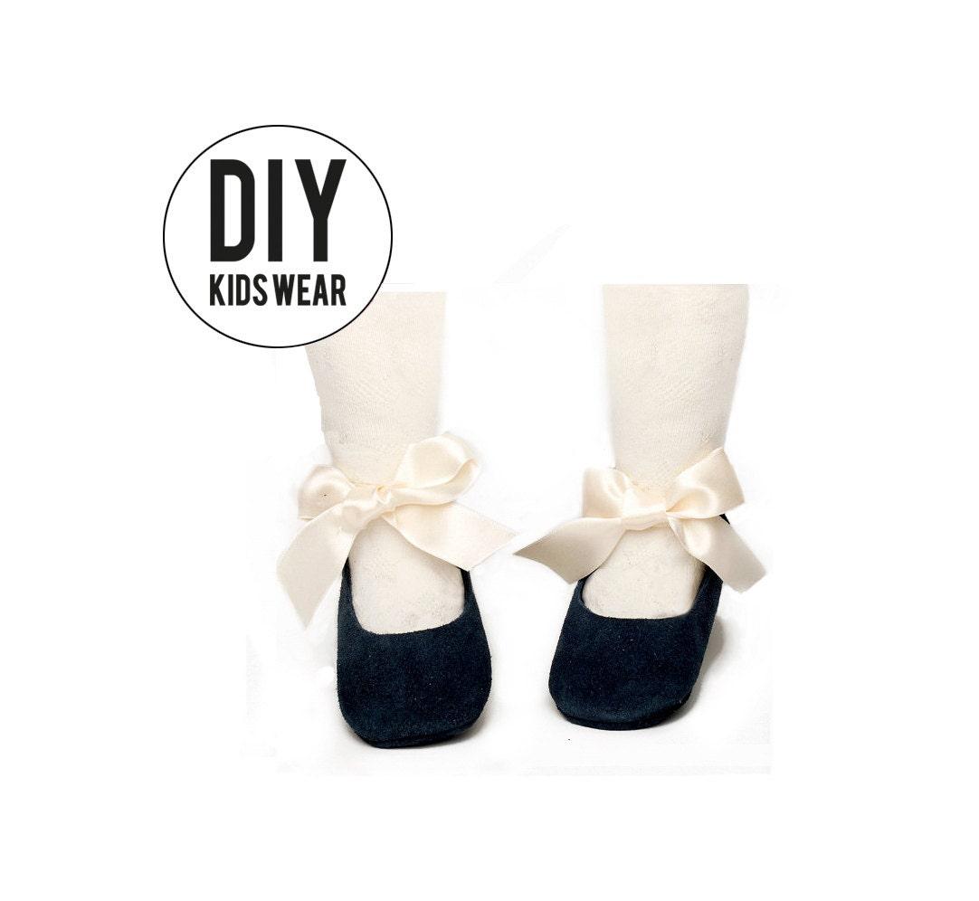 PDF patterns mary jane DIY patterns baby shoes pattern | Etsy