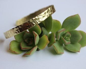Brass Bracelet - Textured