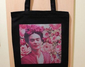 bbe9b76a6 Frida Kahlo Bag, Frida Kahlo Printed Bag, Frida Kahlo Tote Bag, Frida Kahlo  Shopping Bag, 100% Cotton Tote Bag, Frida Kahlo Fan Gift, Frida