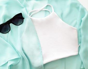 Crop Bikini Top - Multiple Color Options