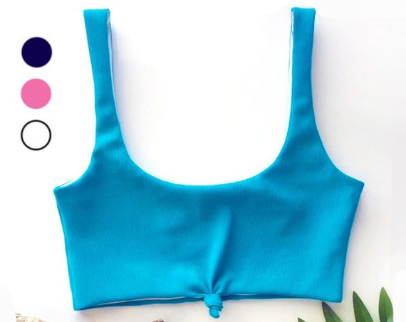 Front Tie Bikini Top | Mutiple Colors