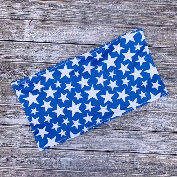 Bandeau Bikini Top | Blue Star