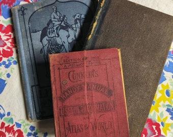 Antique book bundle, craft condition books
