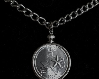 State quarter necklace. The one shown is Texas. I can make any state