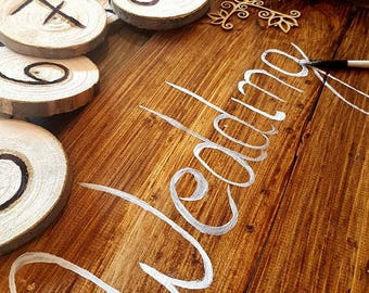 Wedding Signs, Rustic Wedding Signs, Wooden Wedding Signs, Barn Wood Sign, Wood Signs Wedding, Rustic Arrow Signs,