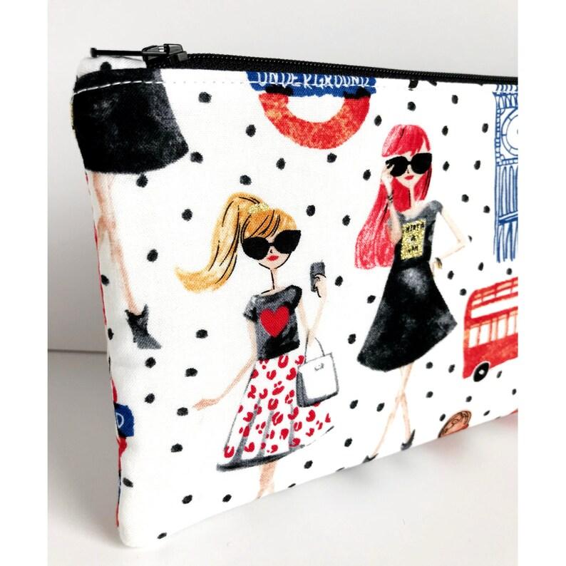 Warm Hearted Designs Zipper Pouch Small Makeup Bag