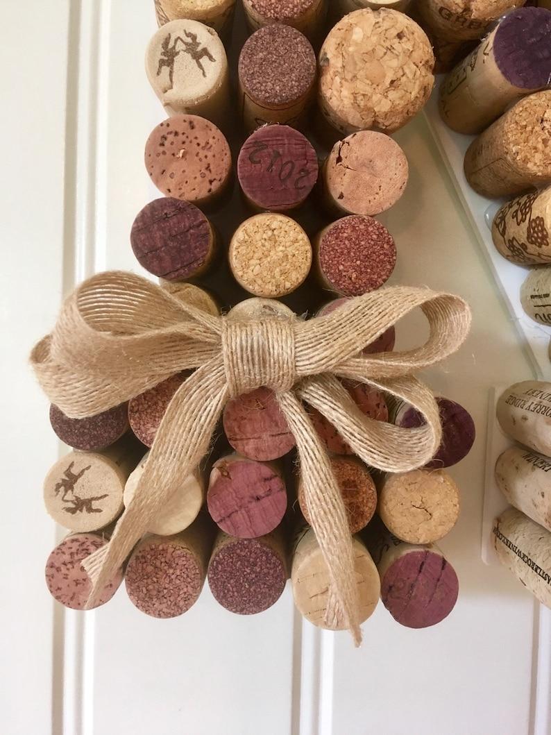 wine cork letter Cork Wreath Cork door hanger vineyard wedding b, a newlywed gift housewarming gift cork monogram wine theme shower