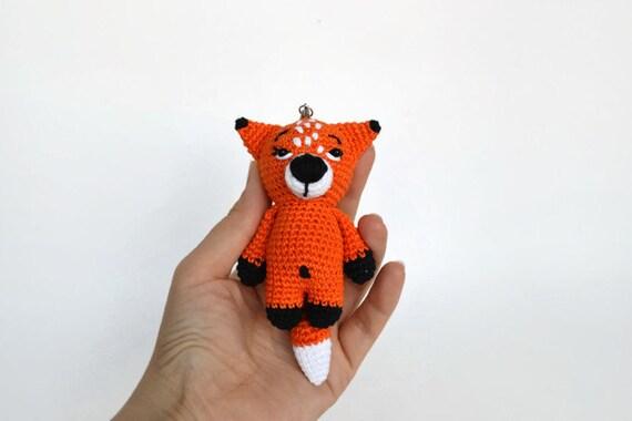 Gefüllte Häkeln Rotfuchs Amigurumi Fuchs Häkeln Tier Geschenk Etsy