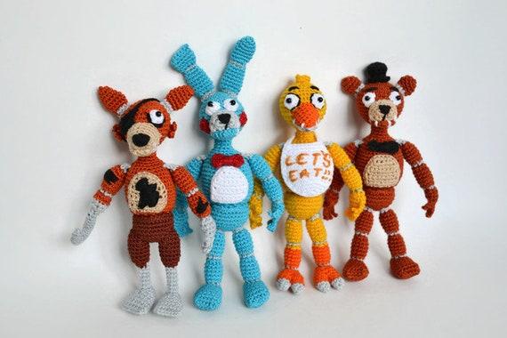 Koala Stuffed Animals Mini, Five Nights At Freddy S Fnaf Crochet Toys Freddy Bonny Etsy