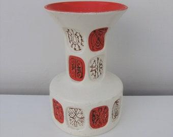 Vintage Mid Century Ceramic Aries Vase Retro 1950's Decorative Ornament Display Fab