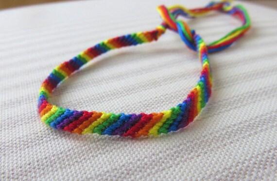 LGBT awareness bracelet \u201cfollow your heart\u201d