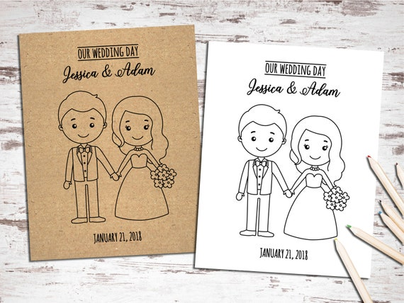 photo regarding Printable Wedding Activity Book identify Printable Wedding ceremony Game and Coloring Guide - Small children Desk - Sheets - Reception Actions for Little ones -Childrens guestbook