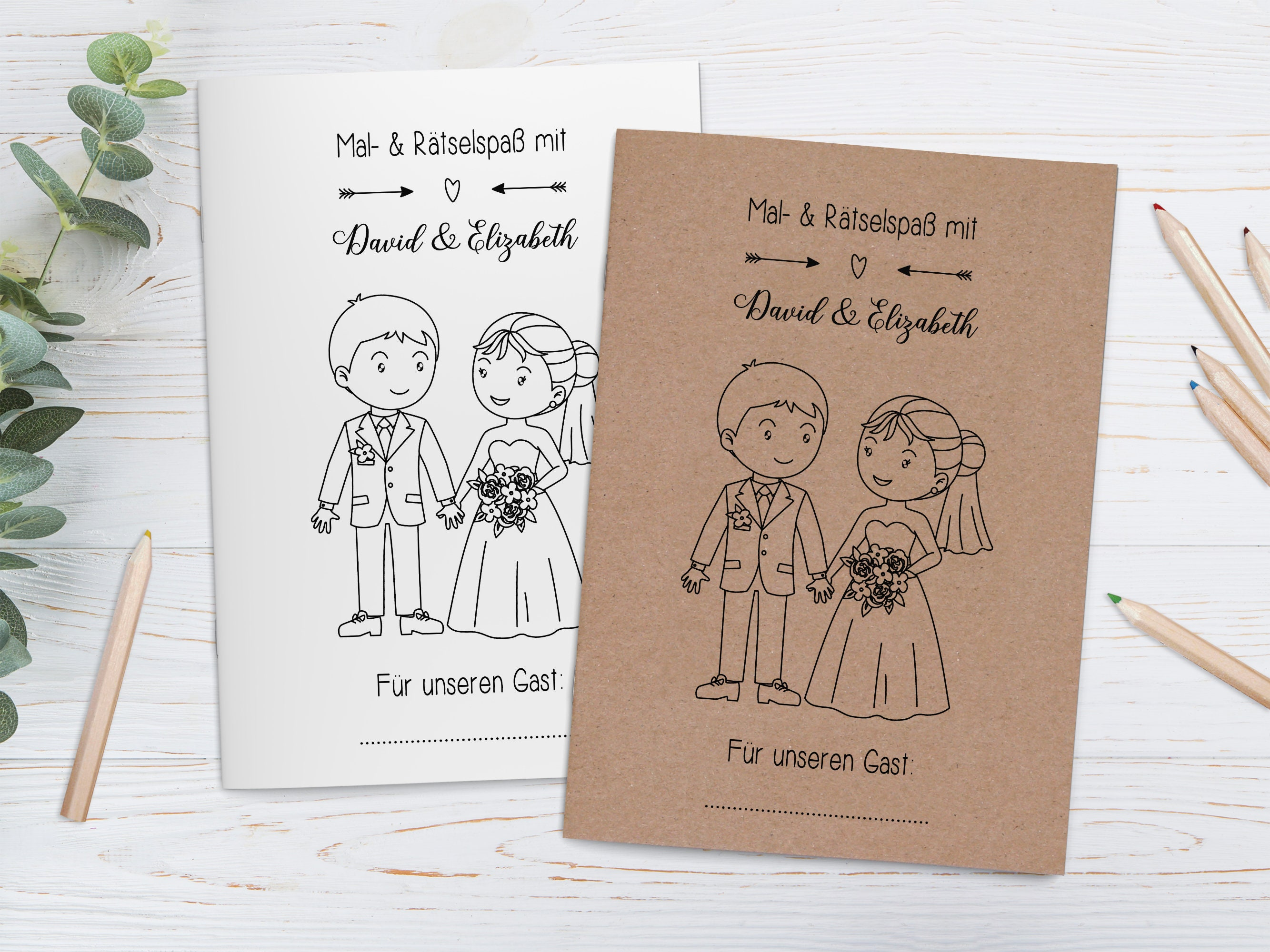 - Personalized Coloring Books For Kids In Set Guest Gift Etsy
