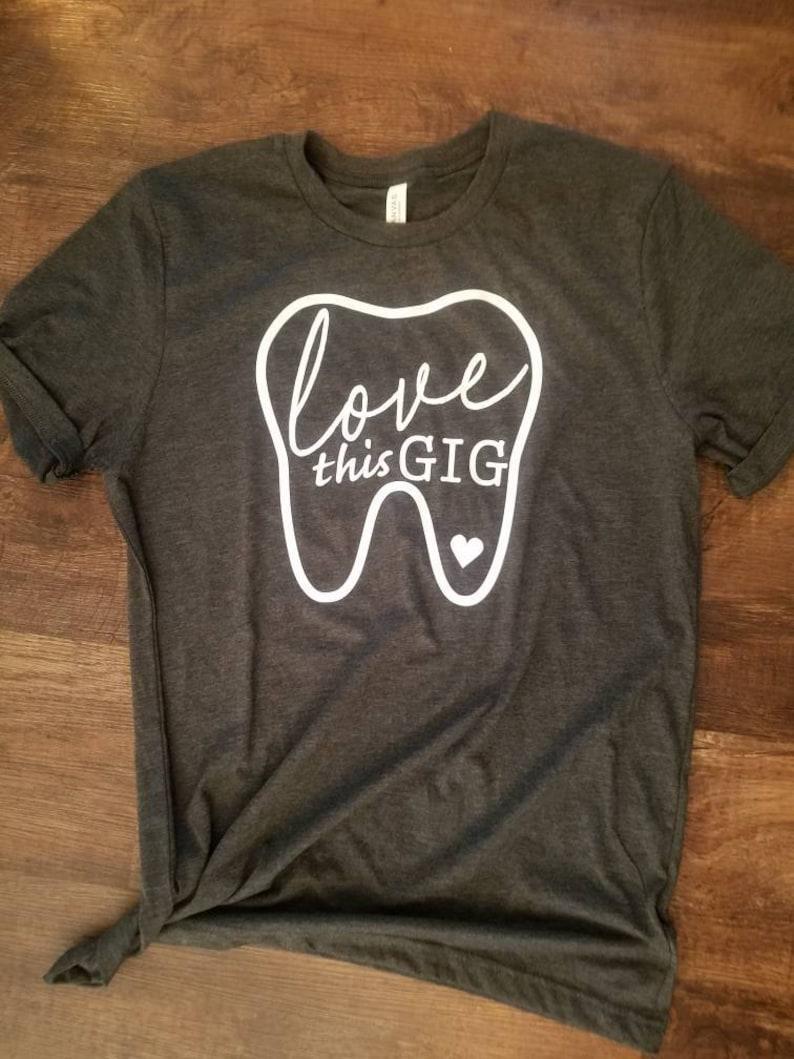 f8ef081e Dental Shirt Dentist Shirt Dental Gift Dental Hygiene | Etsy