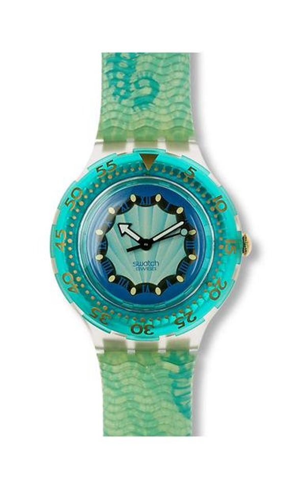 Swatch Sea Horse SDK119,swatch Scuba divers watch