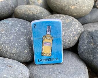 Flip lighter La Botella Loteria