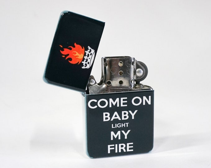 Light my fire sublimated Old school Flip lighter