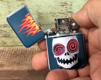 Voodoo sublimated Old school Flip lighter