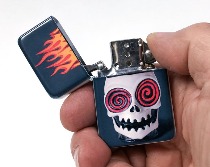 Voodoo sublimated Old school Flip lighter