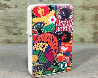 60's sublimated Old school Flip lighter