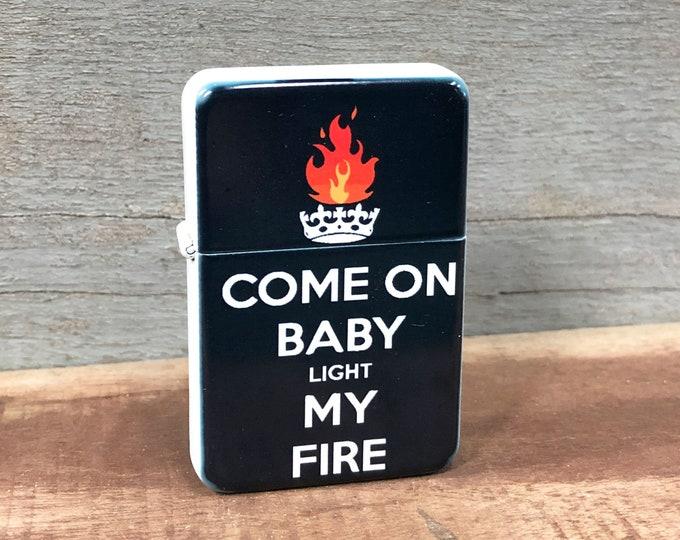 Light my fire sublimated Old school Flip lighter