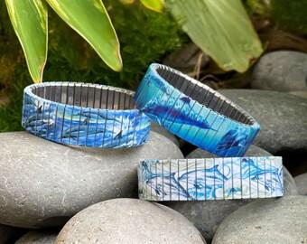 Dolphins stretch bracelet
