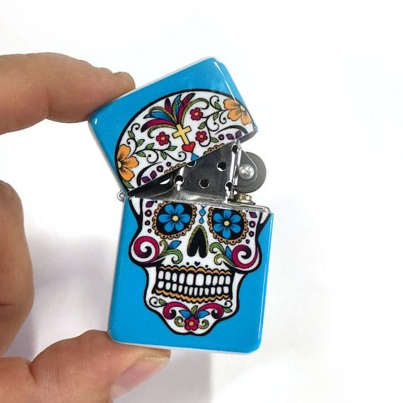 Sugar Skulls Retro lighter