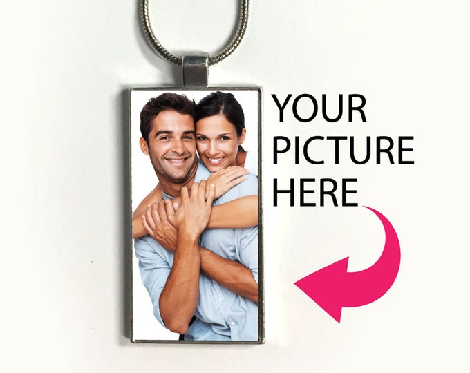 Custom photo necklace, Pendant, sublimation, personal memory, family, baby, dog, cat, gift for friends