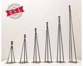 dining table legs, table legs, metal table legs, hair pin leg - Powder Coated -16 quot H to 40 quot H - Made in the USA Ships in 48 Hours