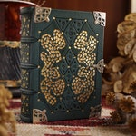 WELKIN Book III - An Intricately Decorated Leather Journal, Clad with Silver and Tooled in Gold