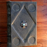 Small Dark Handmade Leather Journal/Notebook