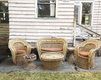 Delicieux Wicker Furniture | Etsy