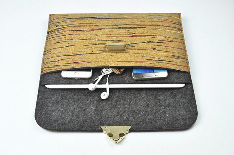 cheap for discount 9af74 10cb2 Personalized Macbook pro case, cork felt Macbook air case, Macbook pro 13  case, Macbook air 13 hard case, Macbook decal,ipad pro 12.9.D1G158