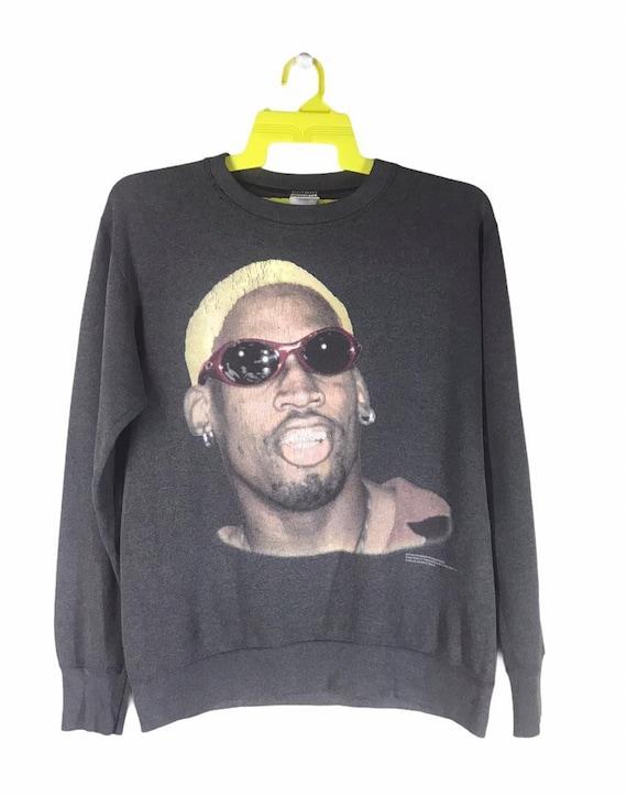 1996 Vintage Dennis Rodman Sweatshirt Polyester Co