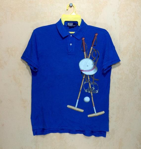 Vintage Polo Ralph Lauren Shirt Ski Snow Beach Pwi