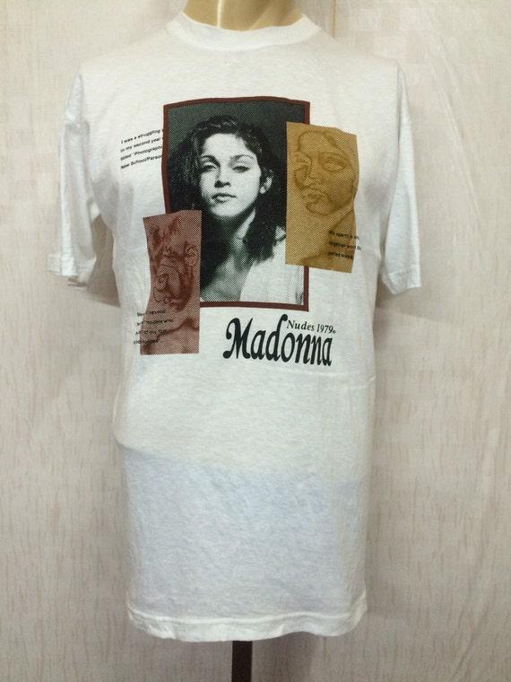 Vintage Madonna Nudes 1979 Tshirt