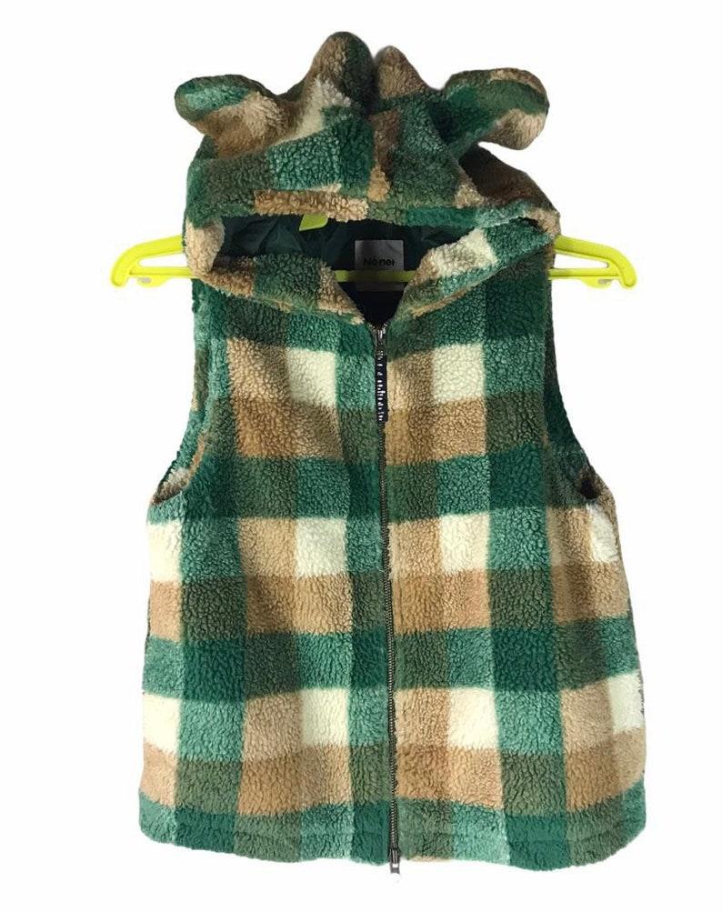 Issey Miyake Ne-net Fleece Hoodie Vest Japanese Designer