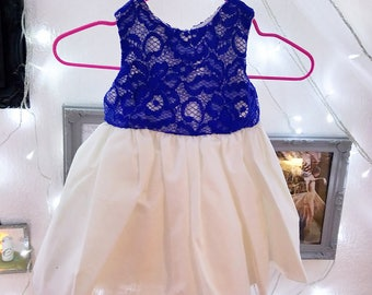 Baby Blue Lace Party Dress