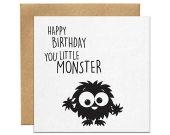 Little Monster Greeting Card | Made In Australia