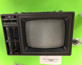 80s portable tv   Etsy