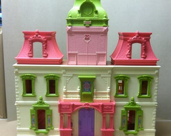 Mattel Loving Family Dream House Grand Mansion Dollhouse Fold Out Dollhouse Pretend Play With  Ringing Doorbell