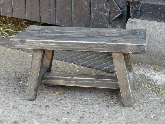 Prime Step Stool Rustic Farmhouse Stool Milking Stool Antique Wooden Stool Foot Stool Primitive Stool Pabps2019 Chair Design Images Pabps2019Com
