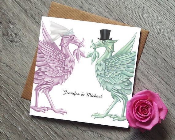 Wedding Invitations Liverpool: Liverpool Liverbird Wedding Invitations Wedding Invitation