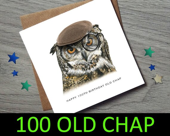 100th Birthday Card For Him