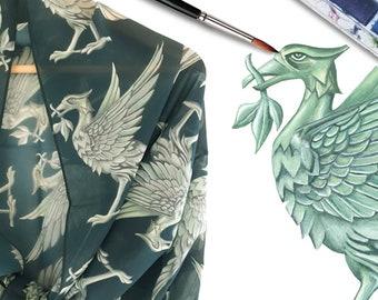 Liverpool Gift - Liverpool Liver bird Scarf - Liverpool Art - Liverpool Gifts - Liverpool fc - Liverpool skyline - Liverpool Prints - LFC