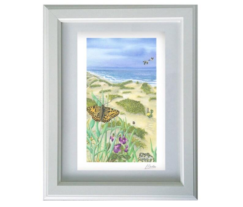 Liverpool Print Crosby Beach Art Print  Crosby Beach image 0
